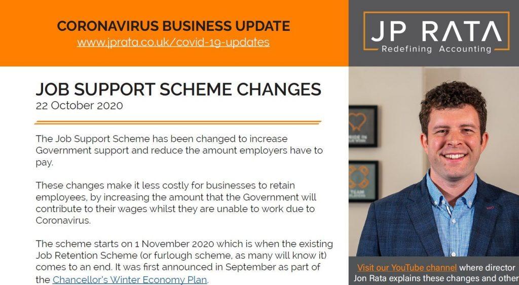 Job Support Scheme Changes PDF Helpsheet